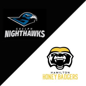 Guelph Nighthawks VS Hamilton Honey Badgers